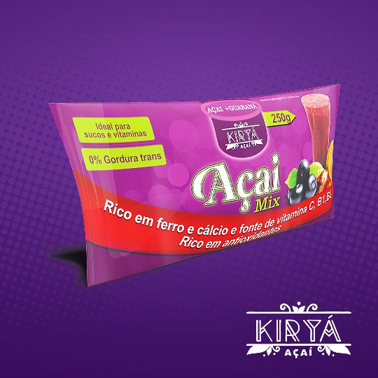 Açaí Kiryá - 250 ML